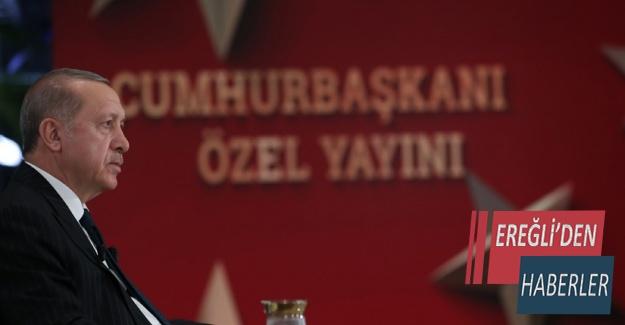 TRT ÖZEL YAYININA KATILDI