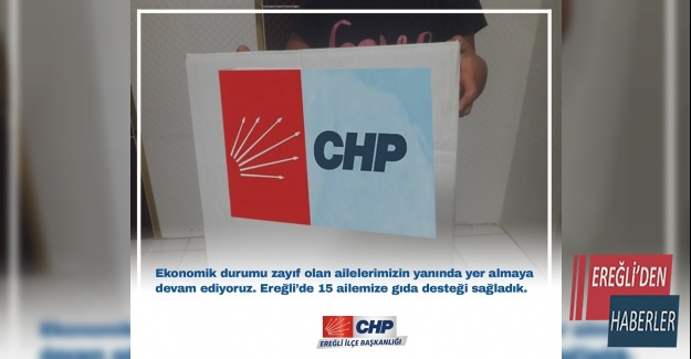 CHP DEN GIDA DESTEGİ