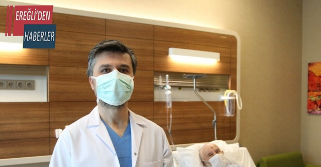 600 grama ulaşan prostat alındı