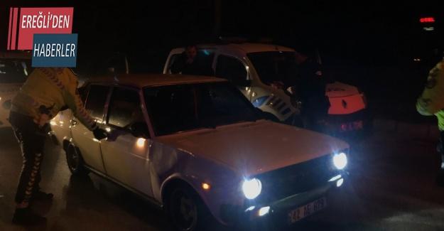 Konya'da alkollü sürücü kovalamaca sonucu yakalandı