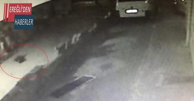 Konya'da yangında annesiyle ölen 6 yaşındaki kızın düşme anı kamerada