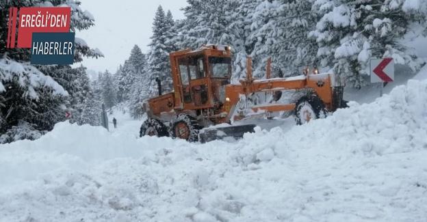 Bozkır- Antalya yolu trafiğe açıldı
