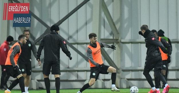 Konyaspor'da Gençlerbirliği maçı hazırlıkları devam ediyor
