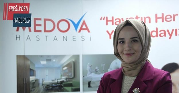Medova Hastanesinden öğrencilere canlı bağlantıyla beslenme önerileri