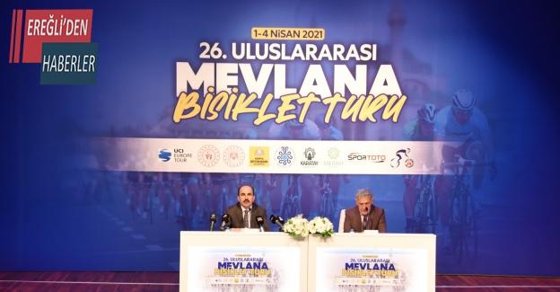 26. Uluslararası Mevlana Bisiklet Turu yarın başlıyor