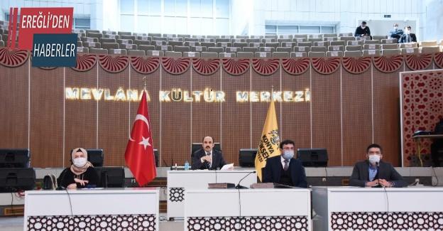 """Başkan Altay """"942 kadın çalışma arkadaşımızla şehrimize hizmet ediyoruz"""""""
