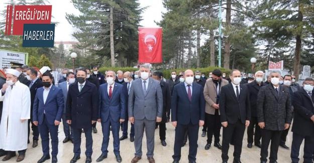 Ereğli'de 18 Mart Çanakkale Şehitleri Anıldı
