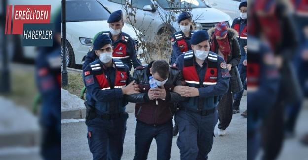 Ereğli'de keçi hırsızları yakalandı