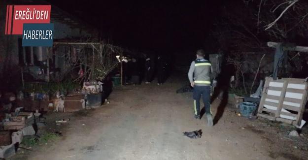 Ereğli'de yaşandı elektrik akımına kapıldı