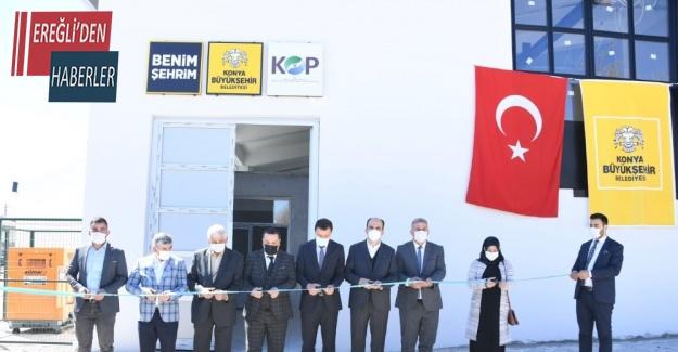 Güneysınır'da lavanta damıtma tesisi açıldı