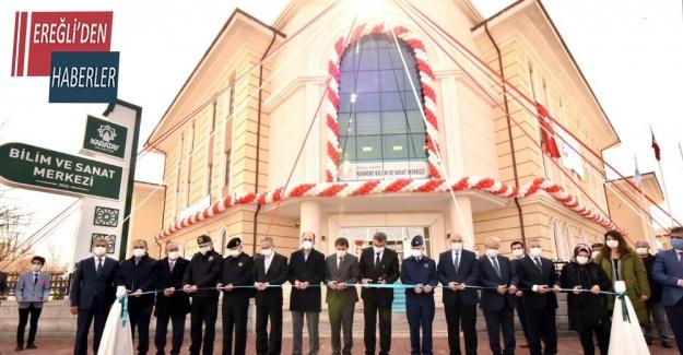 Karatay Bilim ve Sanat Merkezi açıldı