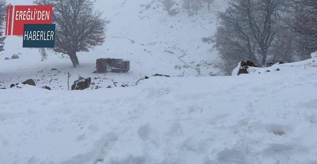 Konya'da otomobil devrildi: 5 yaralı