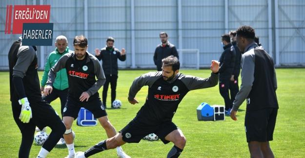 Konyaspor'da BB Erzurumspor maçı hazırlıkları