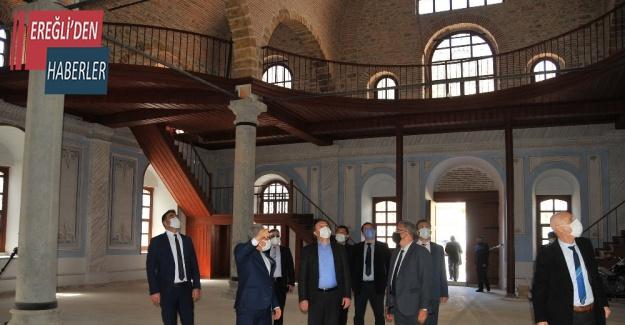 TCDD Genel Müdürü Uygun Akşehir'de