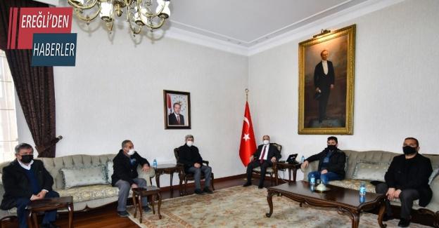 """Vali Özkan: """"Şehitlerimizin emanetlerine hizmet etmenin gururunu yaşıyoruz"""""""
