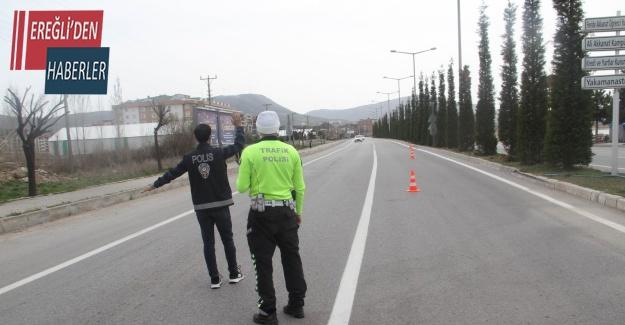 Beyşehir'de sokağa çıkma kısıtlamasını ihlal eden 6 kişiye ceza