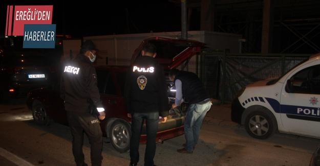 Konya'da kısıtlamayı ihlal eden 11 kişiye 37 bin 400 lira ceza