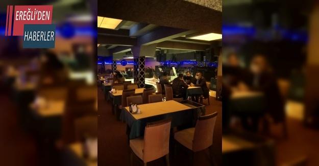 Konya'da koçbaşı ile girilen eğlence mekanındaki 74 kişiye ceza