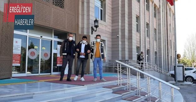 Konya'da kuyumcuyu bacağından vuran şüpheli tutuklandı