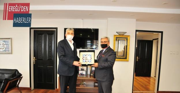 Sivas Ticaret Borsası'ndan KTB'ye ziyaret