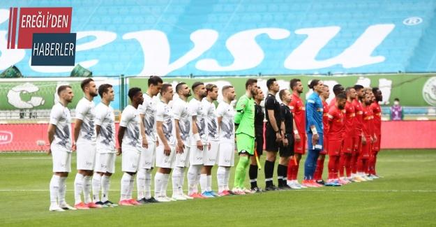 Süper Lig: Konyaspor: 0 - Kayserispor: 0 (İlk yarı)