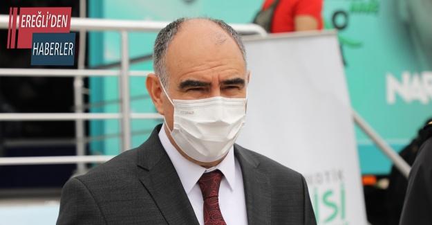 """Vali Özkan: """"Gelecek kuşaklarımızı zararlı maddelerden koruyarak hedefimize odaklanmış olacağız"""""""