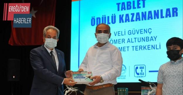 """""""Akşehir Hatimlerde Buluşuyor"""" projesinin ödül töreni gerçekleştirildi"""