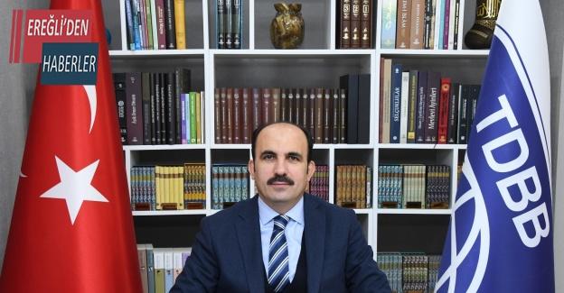 """Başkan Altay: """"Dualarımız her zaman Filistin halkının yanında"""""""