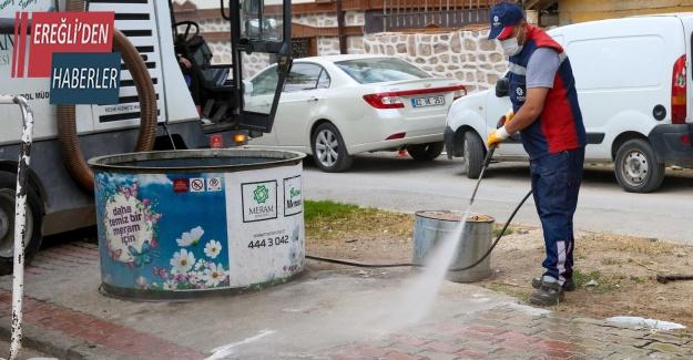 """Başkan Kavuş: """"Daha temiz bir Meram için çalışıyoruz"""""""