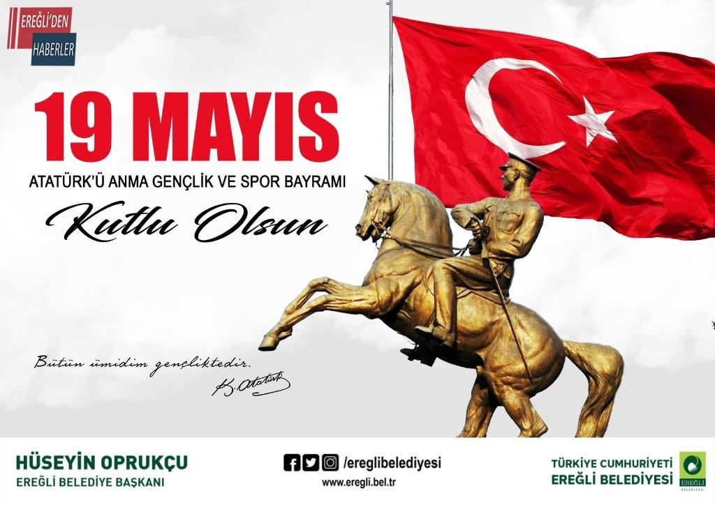 Başkan Oprukçu'dan 19 Mayıs mesajı