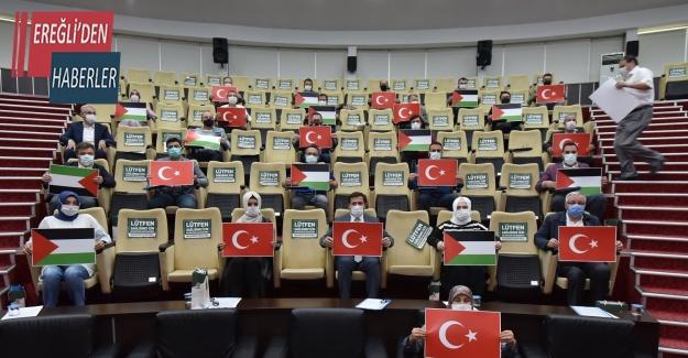 Karatay Belediye Meclisi İsrail'i kınadı