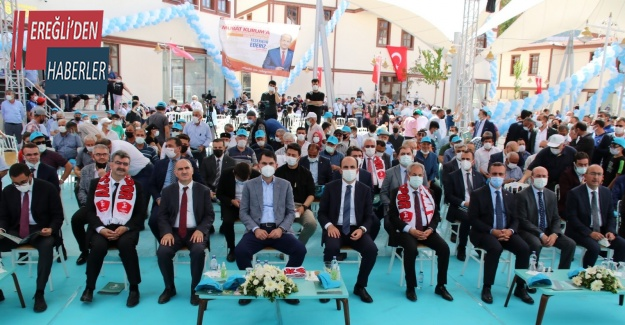 """Bakan Kurum: """"Amacımız, Akşehir için yeni cazibe merkezleri oluşturmak"""""""