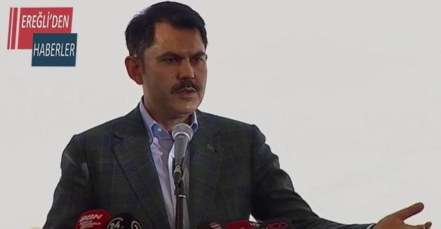 Bakan Kurum: Hedefimiz çok daha güzel bir Konya inşa etmektir