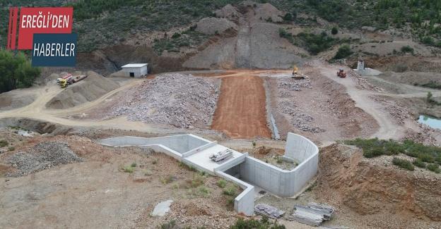 Hüyük'e yeni baraj inşa ediliyor
