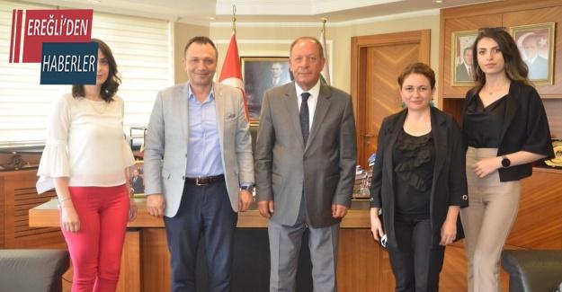 Konya Dünya Göz Hastanesinden ziyaret