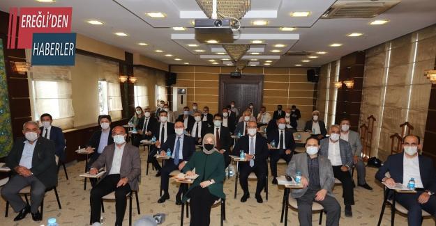 Konya'da sulama konusunda yapılacak çalışmalar istişare edildi