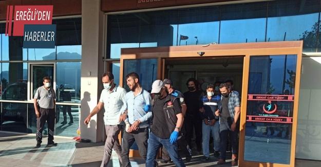 Konya'da uyuşturucu operasyonu: 4 tutuklama