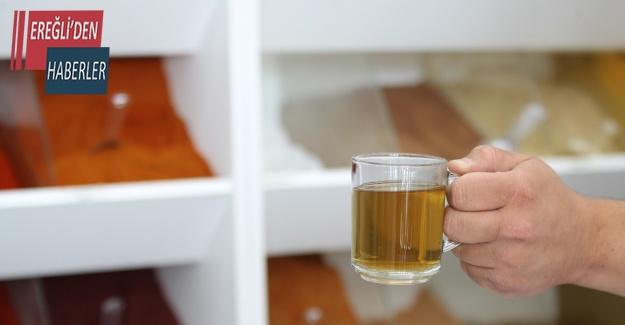 Pandemi kilolarına 'beşi bir yerde' çayı