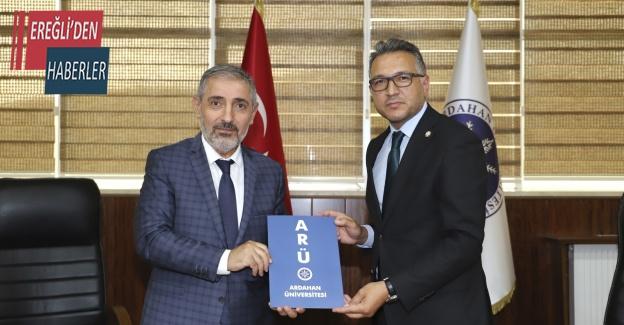 """Rektör Aksoy: """"YÖK Anadolu Projesini işaret fişeği olarak görüyoruz"""""""