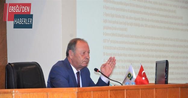 Başkan Oprukçu'dan meclis toplantısında promosyon açıklaması