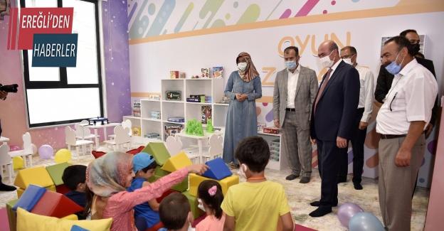 Hatice Hatun Külliyesi Çocuk Mektebi'nde eğitimler başladı