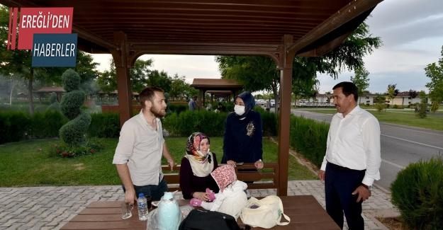 Kılca ve Samancı piknik bahçesinde vatandaşlarla buluştu