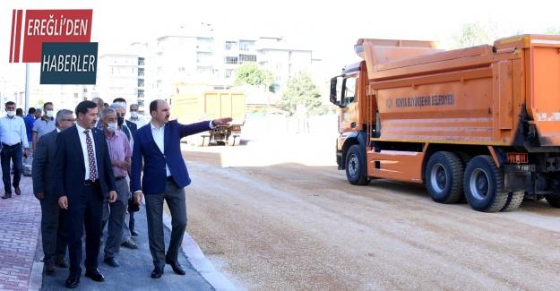 Konya'da Celaleddin Karatay Caddesi tamamlandı