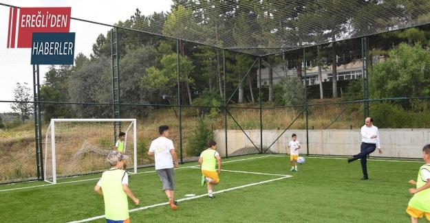 Konya'nın 28 ilesinde yaz spor okulları yeniden başlıyor