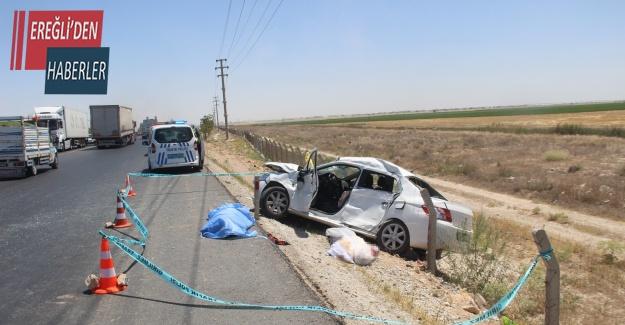 Otomobille tır çarpıştı, baba kız hayatını kaybetti