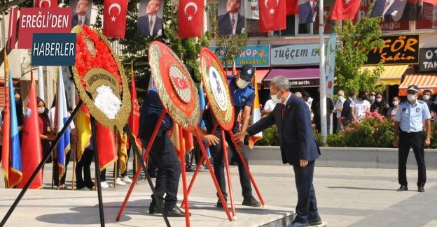 Akşehir'de 30 Ağustos Zafer Bayramı Kutlandı