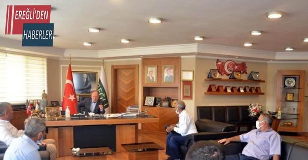Başkan Oprukçu'ya Belkaya Mahallesi sakinlerinden teşekkür