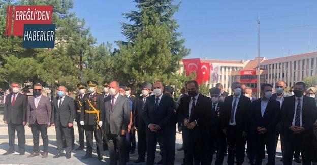 Ereğli'de 30 Ağustos Zafer Bayramı kutlandı