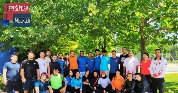 İşitme Engelliler Judo Milli Takımı Dünya Şampiyonasına Konya'da hazırlandı