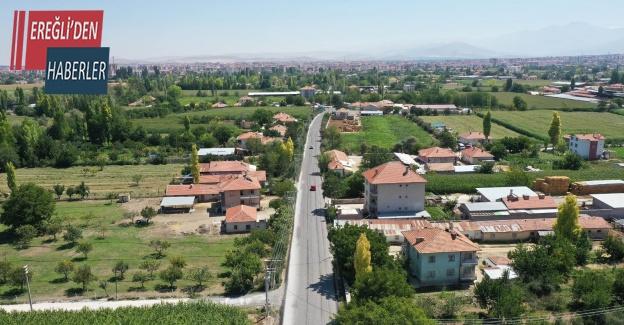 Konya Büyükşehir Ereğli'de bu yıl 22,6 kilometre mahalle yolu yapıyor